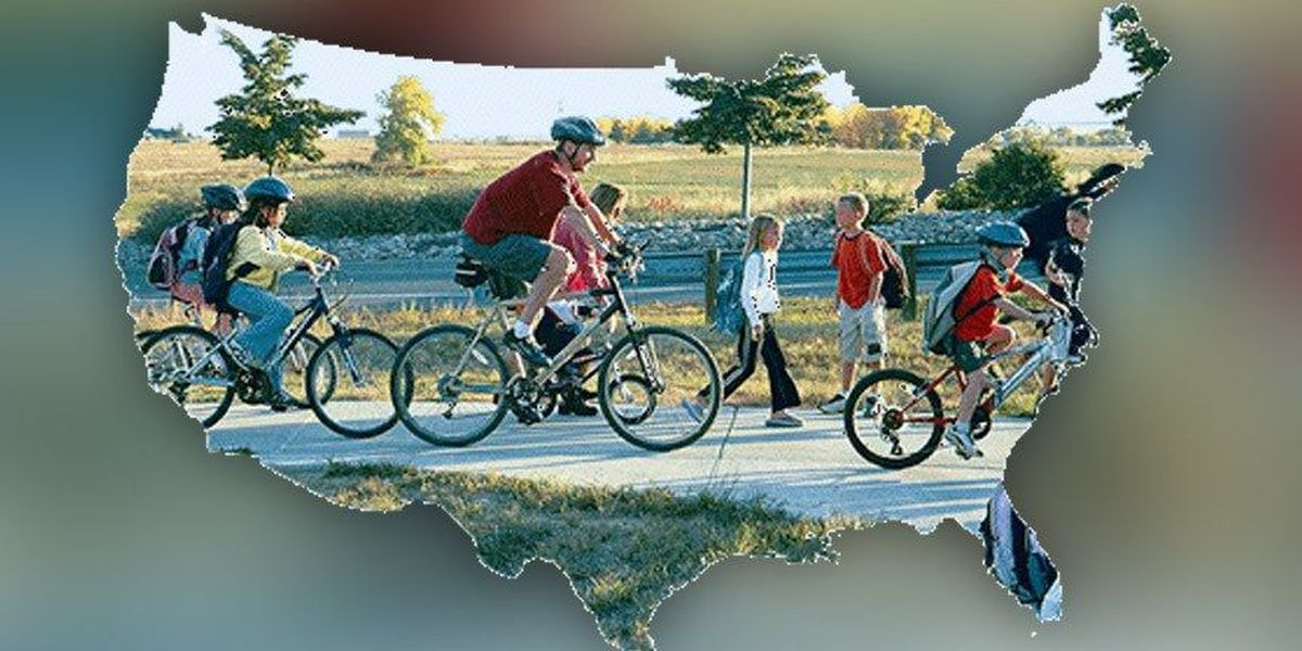 Schools participate in National Bike to School Day