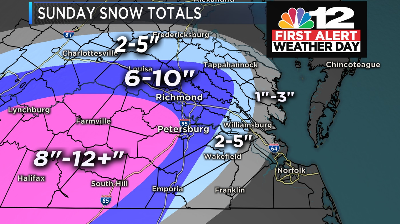 First Alert Sunday Snow Keeps Piling Up