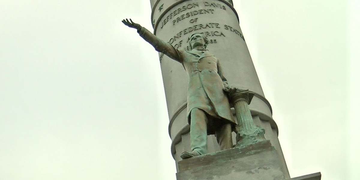 Joe Morrissey calls for the removal of Jefferson Davis statue