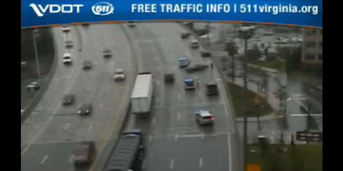 All lanes back open, residual delays on I-95S in Richmond