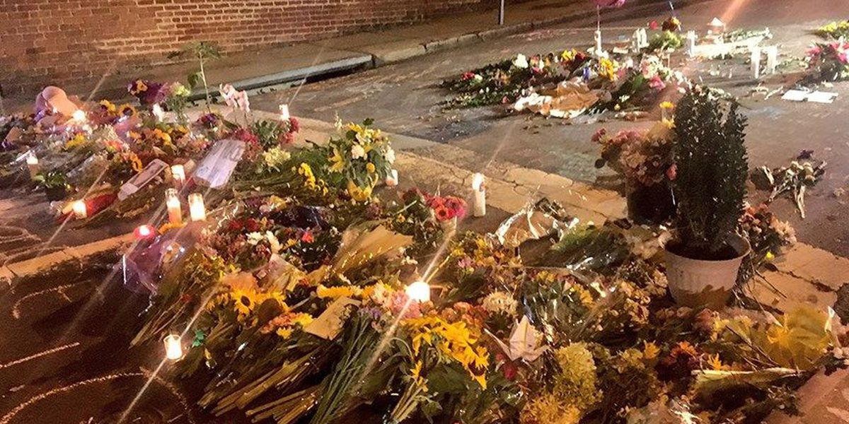 Memorial grows for woman killed in Charlottesville protests