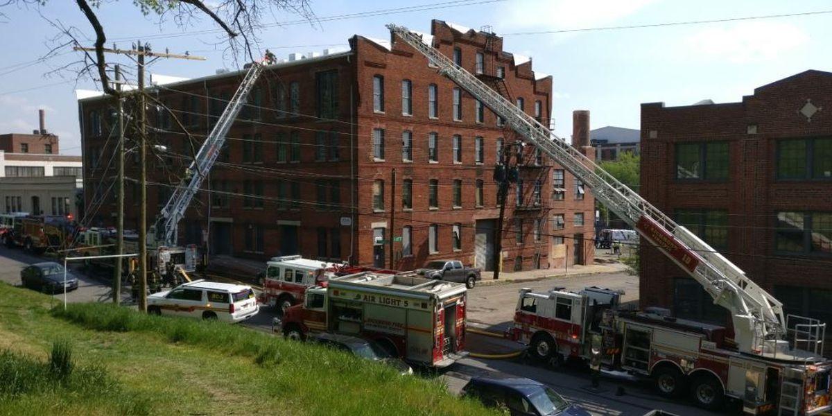 Crews investigate two-alarm fire in Shockoe Bottom