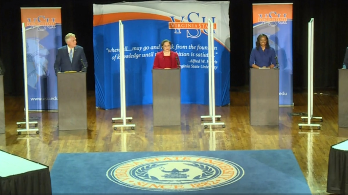 4 moments that stood out during the first Democratic gubernatorial debate