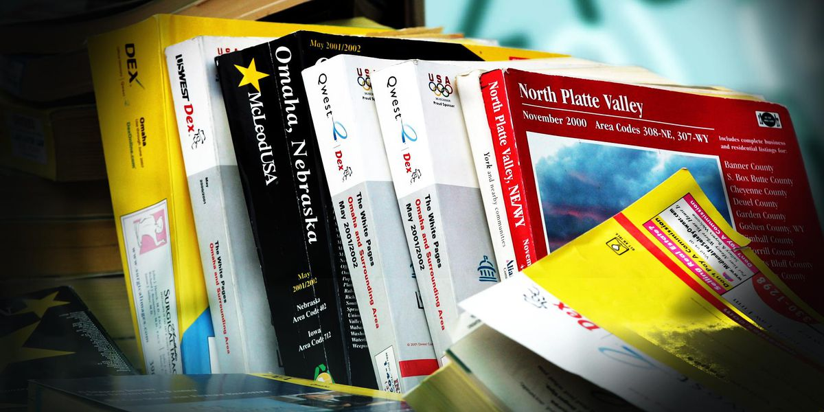 On This Day: The death of a household staple begins - the phone book