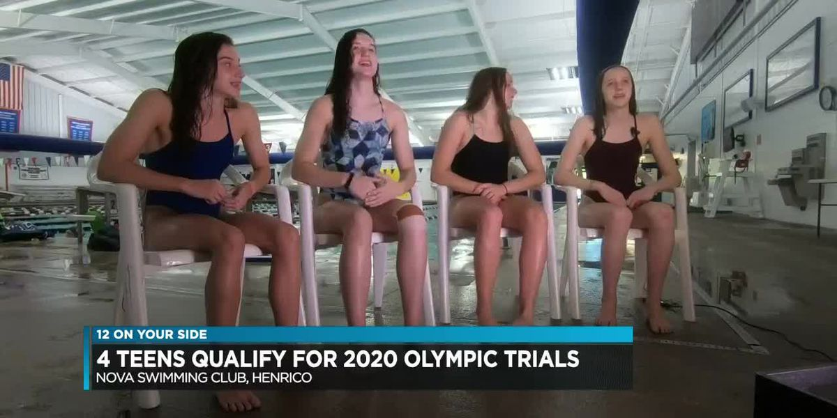 'I'm excited': Central Va. swimmers qualify for 2020 U.S. Olympic trials