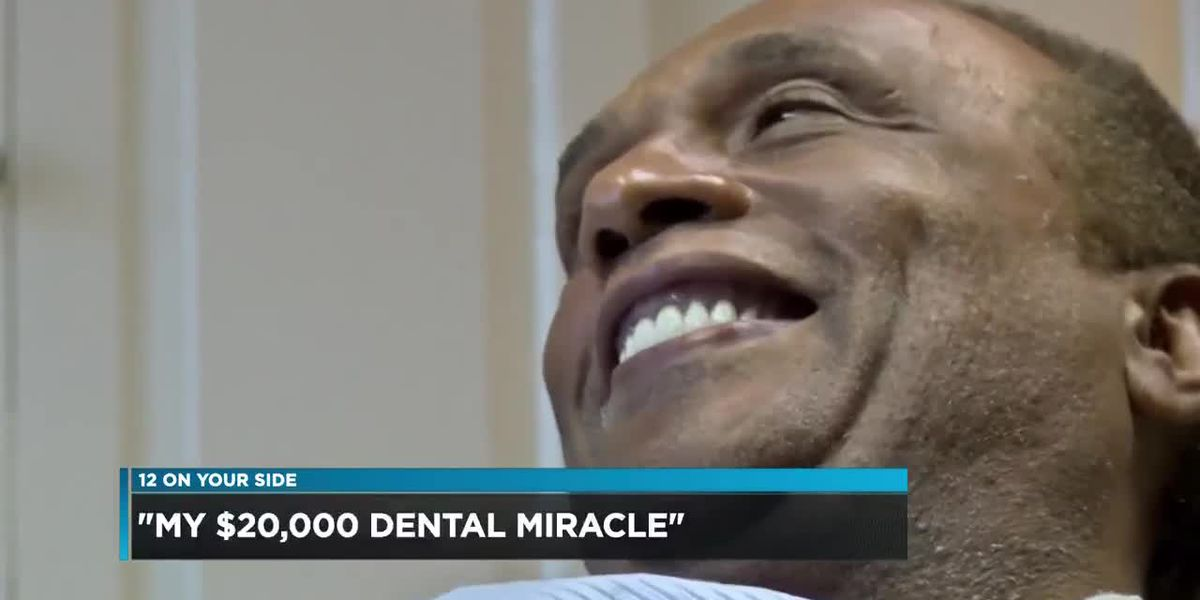 Man receives free dental care