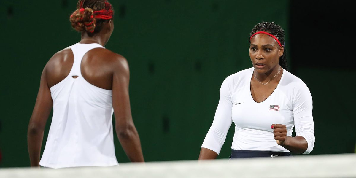 Serena and Venus Williams lose first-ever Olympic doubles match