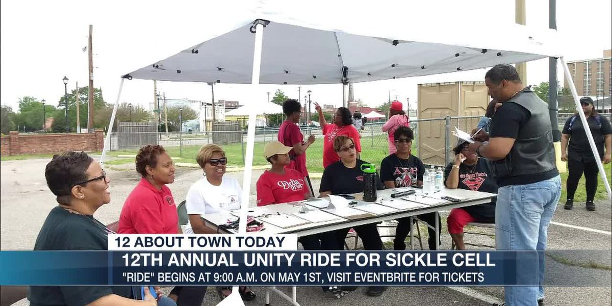 12th annual unity ride for sickle cell