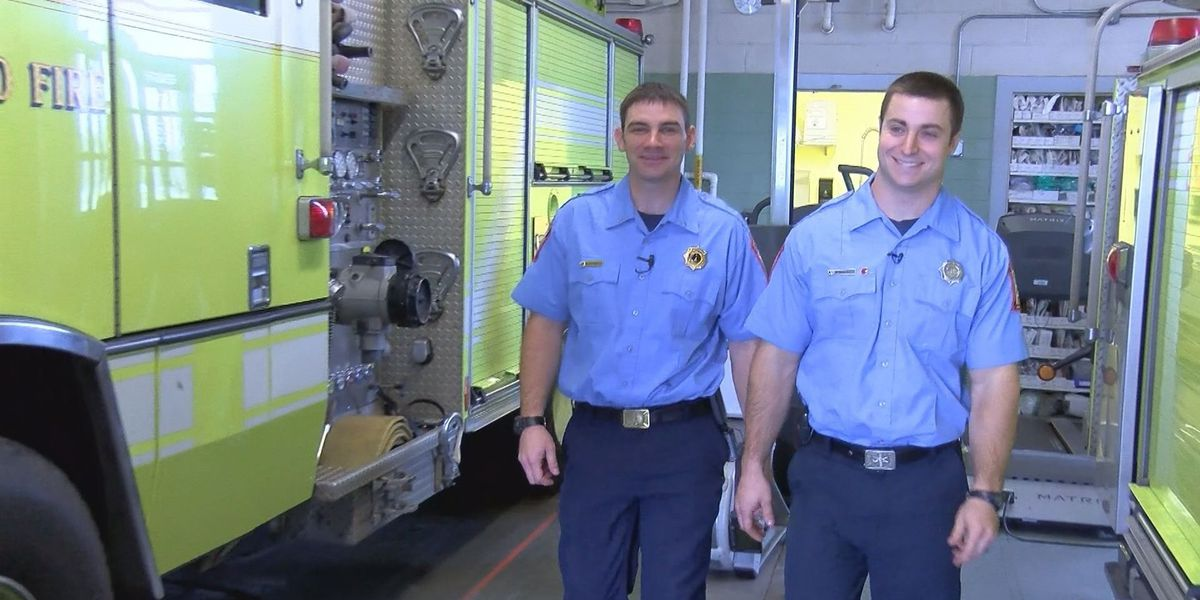 Firefighters hailed as heroes for delivering baby outside fire house