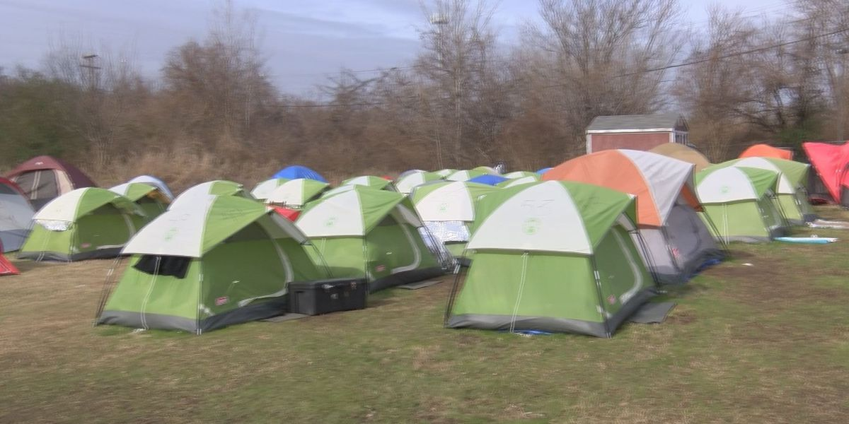 Future of homeless people living in Richmond tent city in question