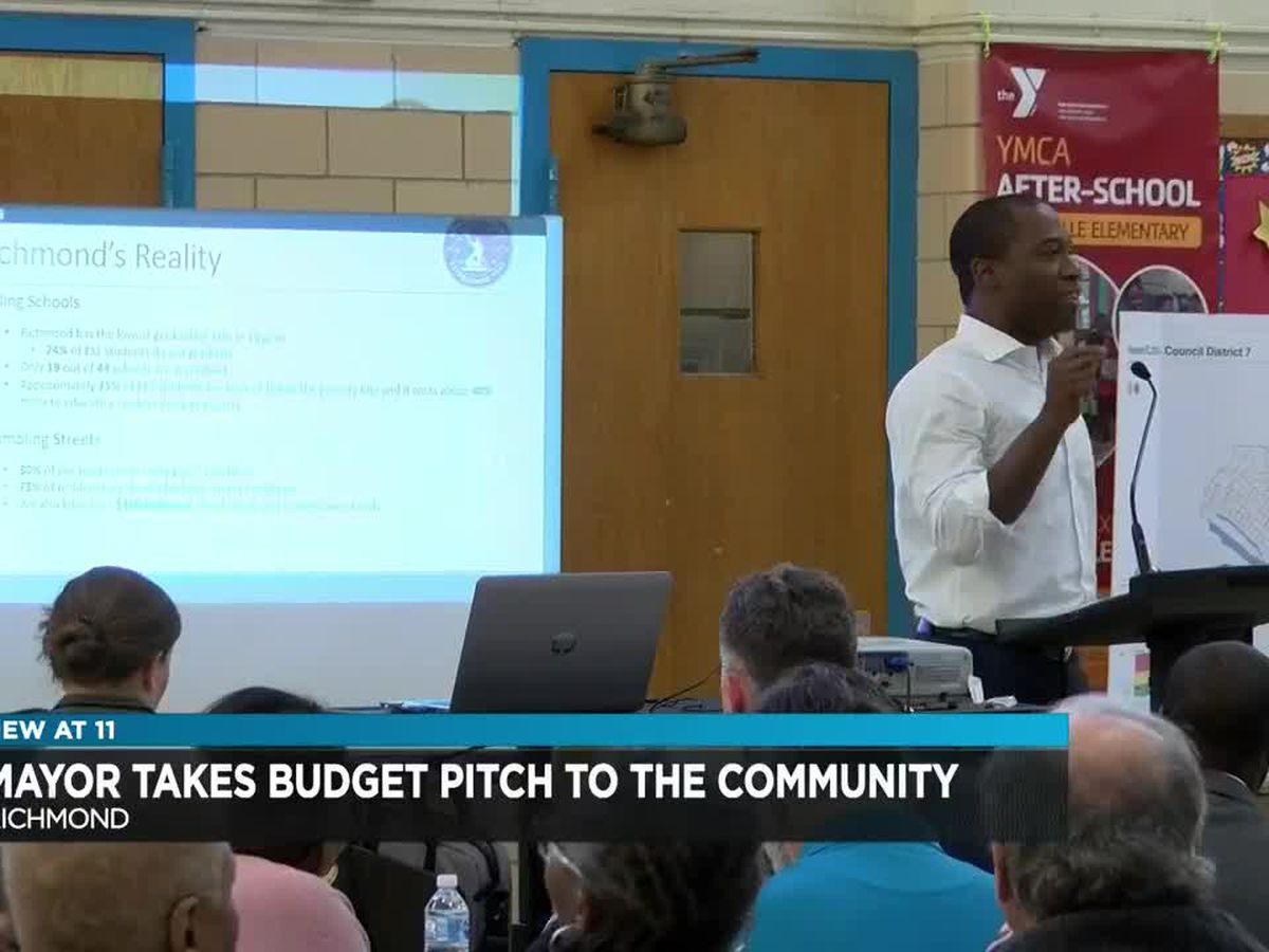 Richmonders respond to mayor's proposed budget at community forum