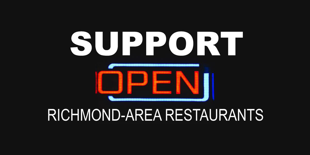 Help support Richmond-area restaurants during the COVID-19 pandemic