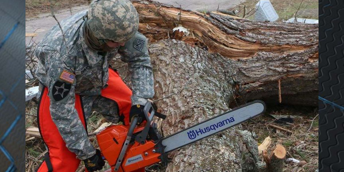 VIDEO: Virginia National Guard assisting in Essex after storms