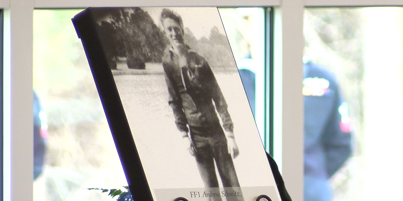 'He's home': Va. veteran buried nearly 80 years after attack on Pearl Harbor