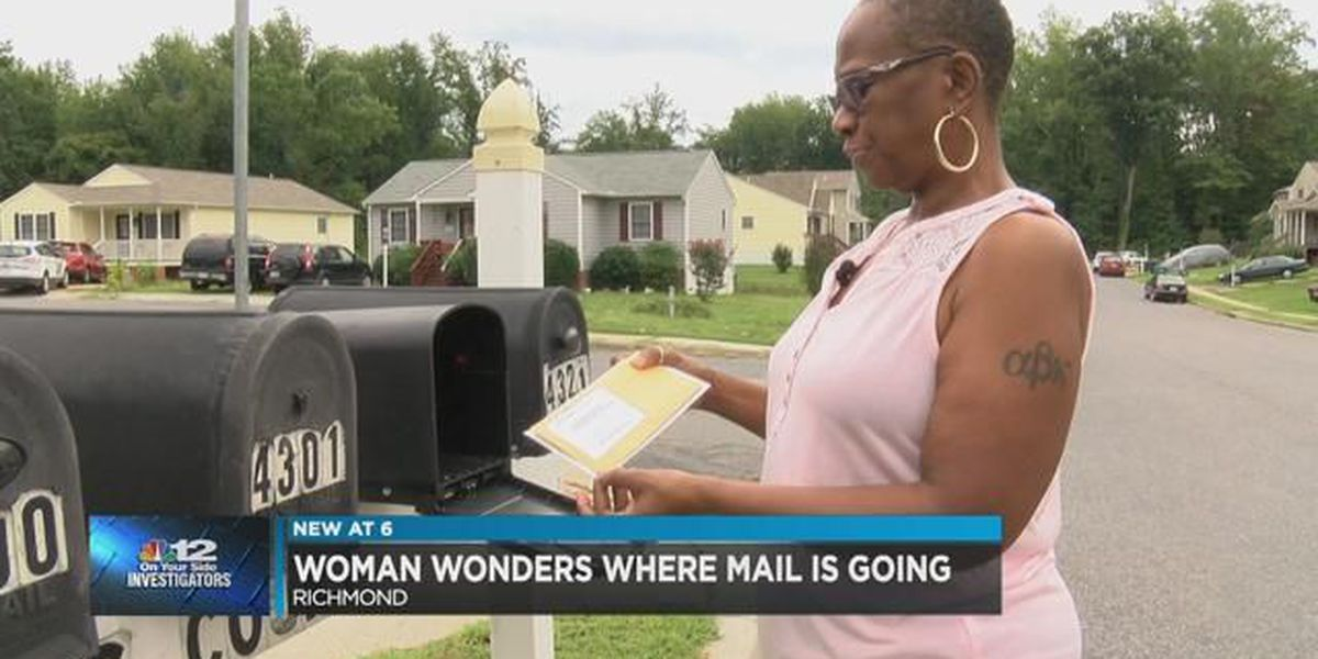 Woman wonders where her missing mail went