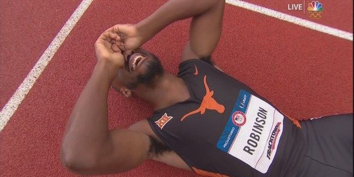 Chesapeake native Byron Robinson qualifies for Olympics in 400-m hurdles