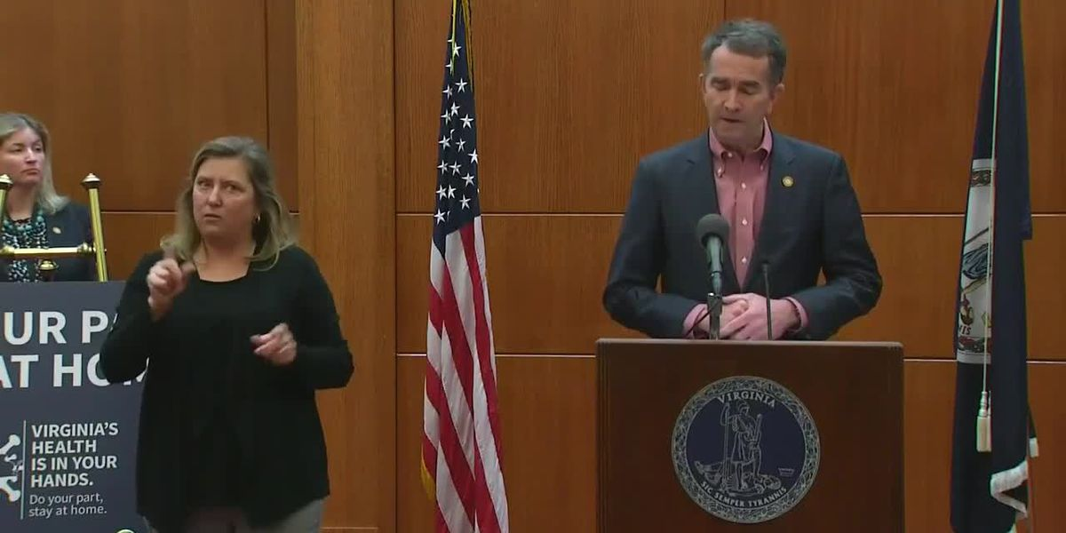 Gov. Northam holds Friday's briefing as more than 600 cases of COVID-19 are confirmed