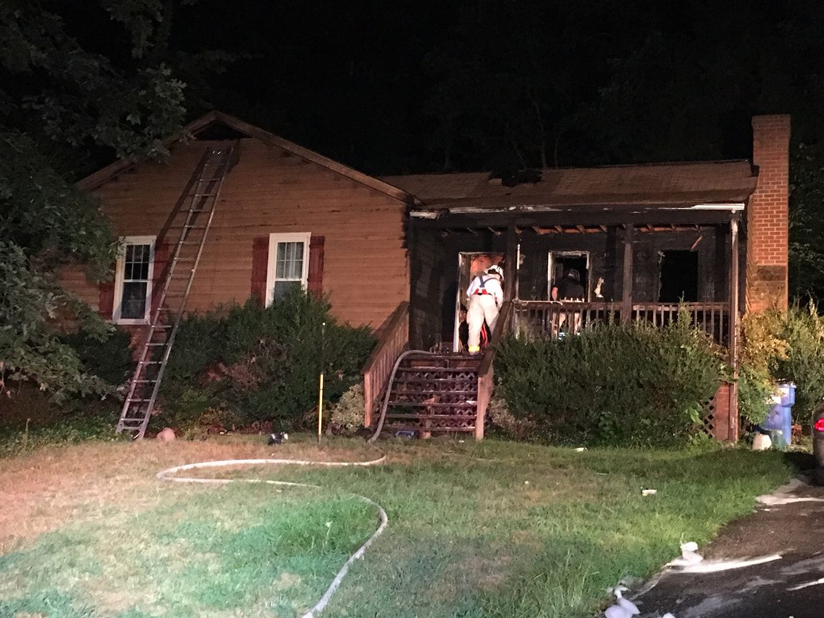 Disregarded smoking materials spark Chesterfield house fire, 3 displaced