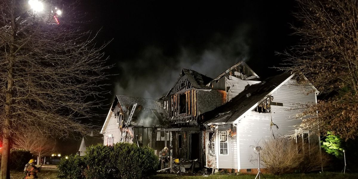 Fire causes severe damage to Hanover home