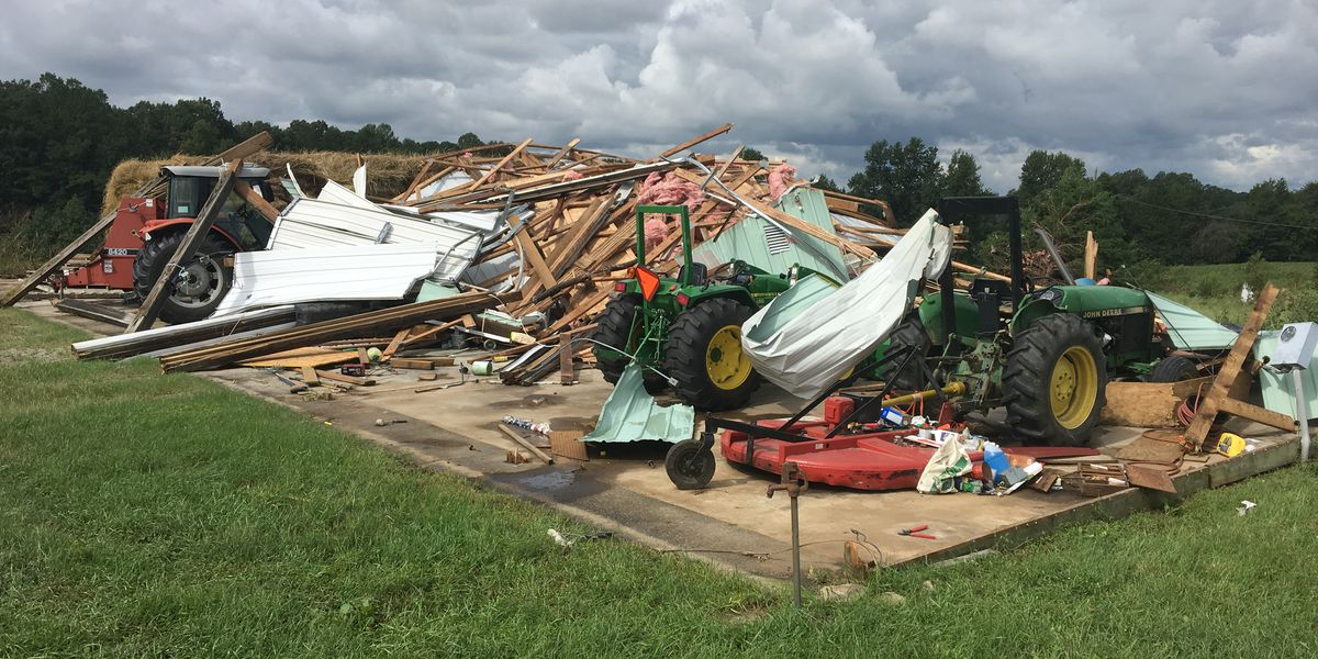 Hanover Co. barn destroyed, trees uprooted from confirmed tornado