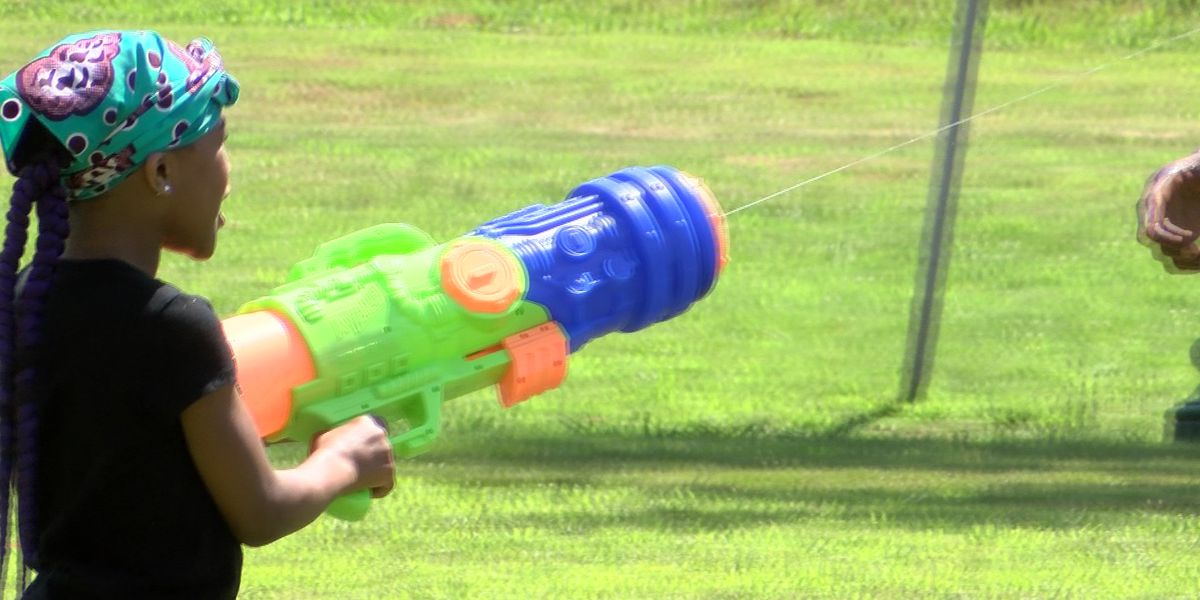 Man holds water fight in response to gun violence in Richmond