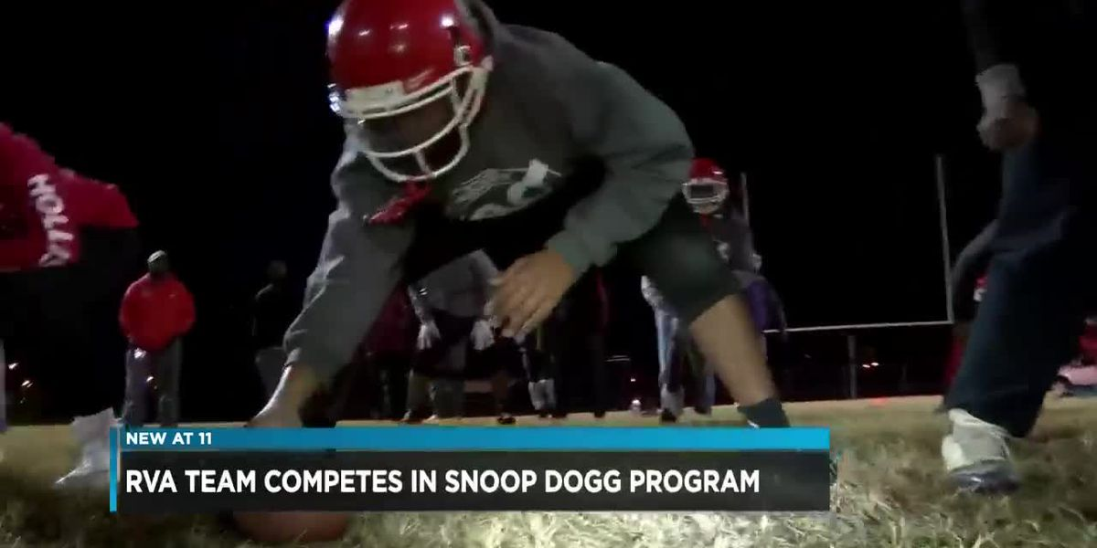 Richmond youth football team competing in Snoop Dogg program