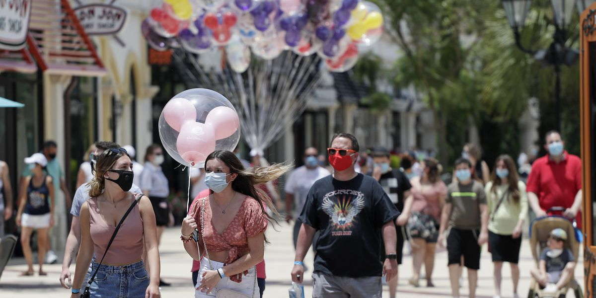 Disney World reopens as coronavirus cases surge in Florida