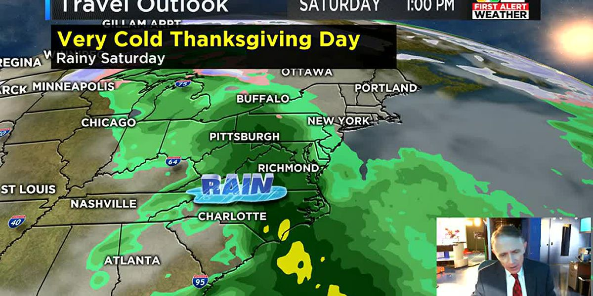 Traveling for Thanksgiving? Here's your forecast