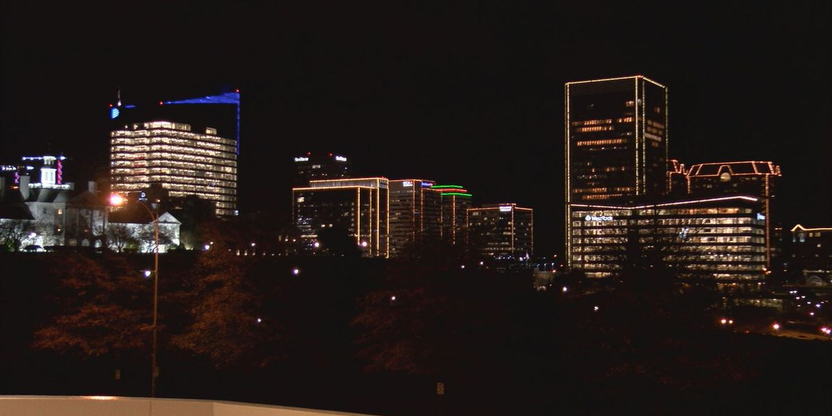 RVA Illuminates in full swing with one thing missing - crowds weren't allowed for countdown