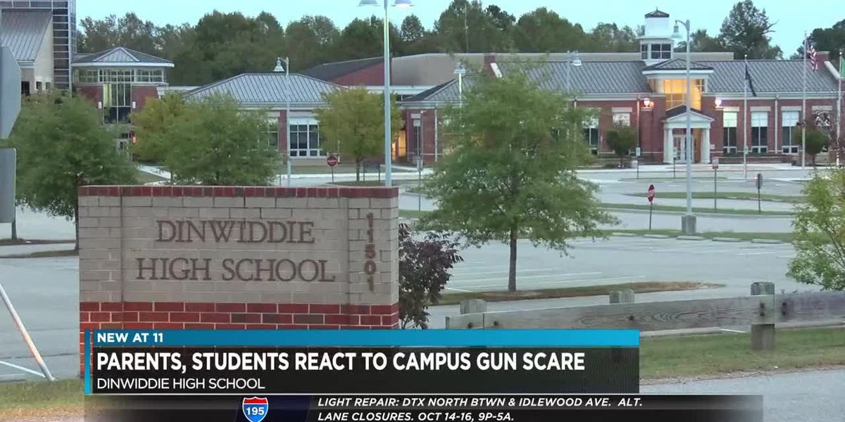 Community concerned over gun scare at Dinwiddie school