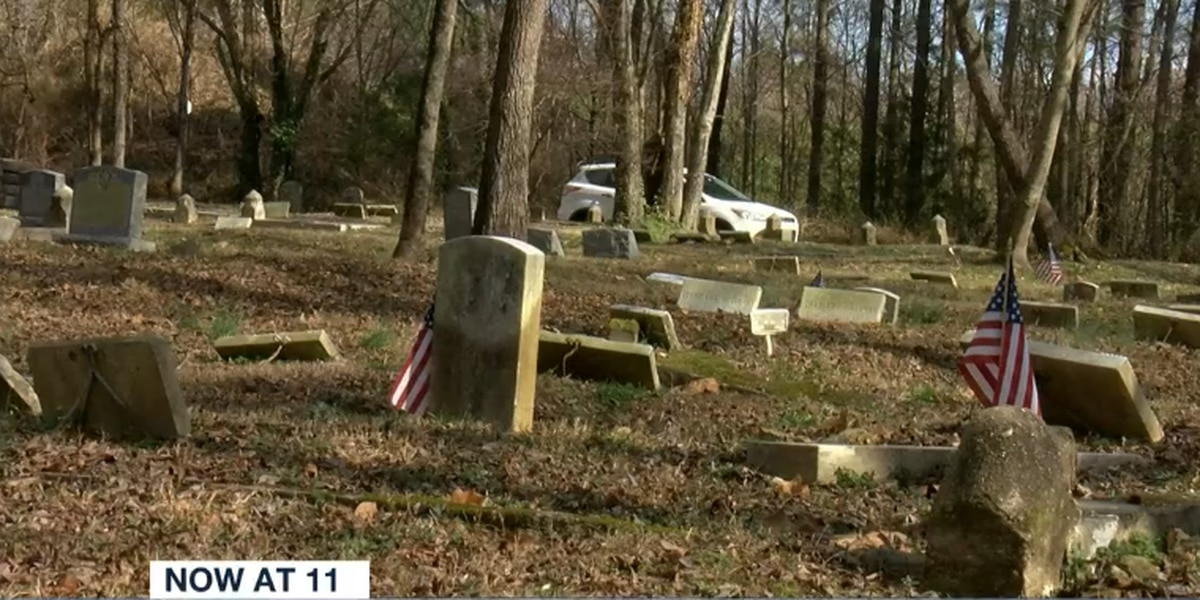 Volunteers use GPS technology to map, clean up East End Cemetery