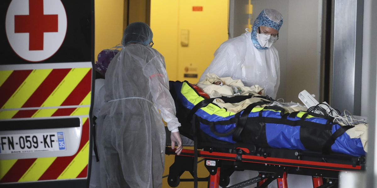 Virus deaths slow in some places, British PM's condition worsens