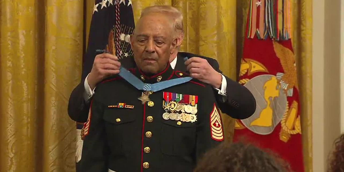 Vietnam veteran receives Medal of Honor, nation's highest military honor
