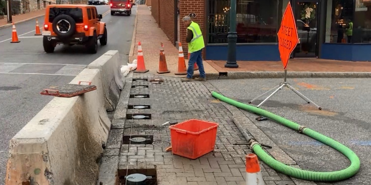 Staunton installing removable bollards to increase pedestrian safety