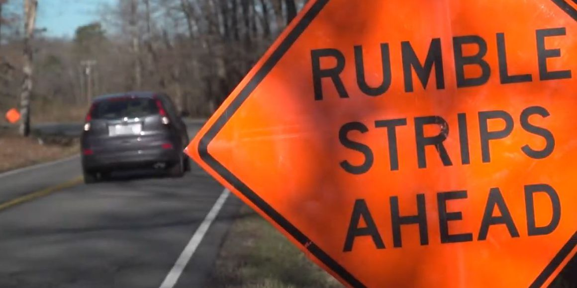 VDOT to begin deploying rumble strips in work zones