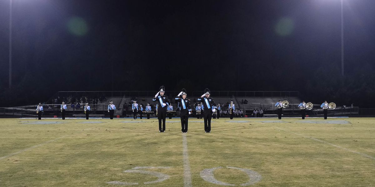 Marching band exhibition scheduled for Tuesday night