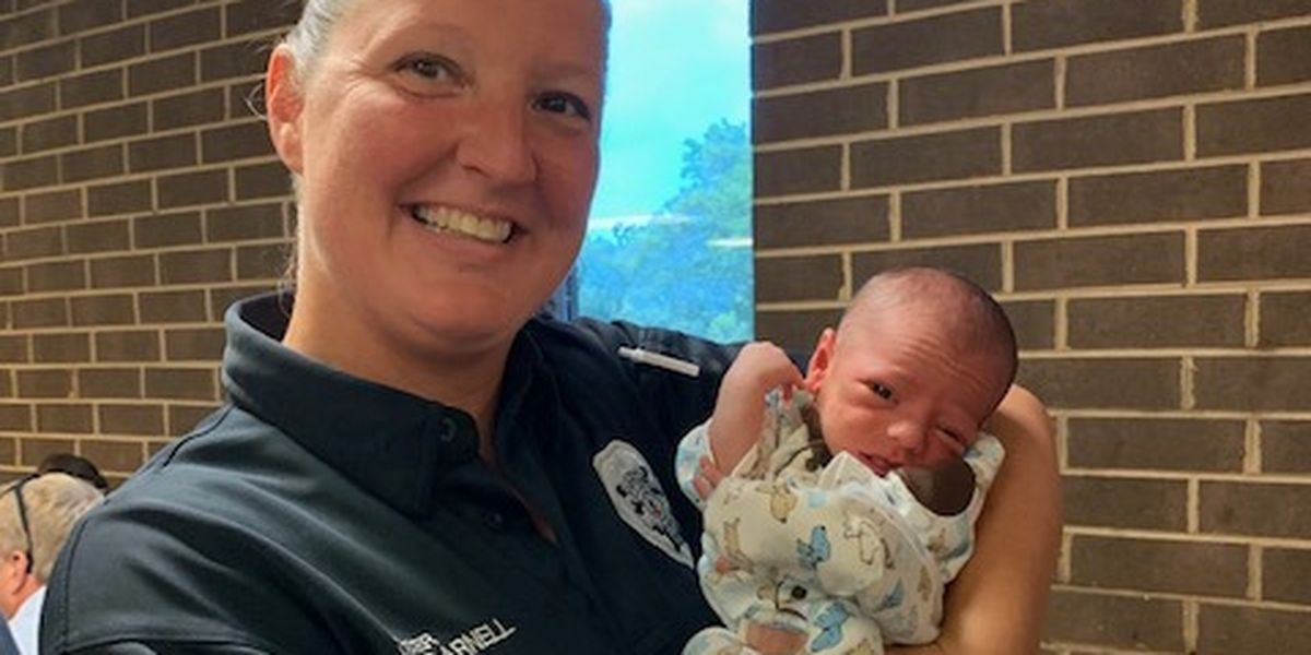 WATCH: Virginia officer saves baby who stopped breathing