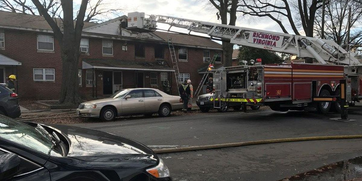Baby, 2 firefighters injured in Richmond house fire