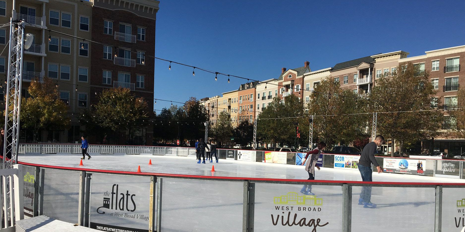 Ice rink at West Broad Village opens Friday