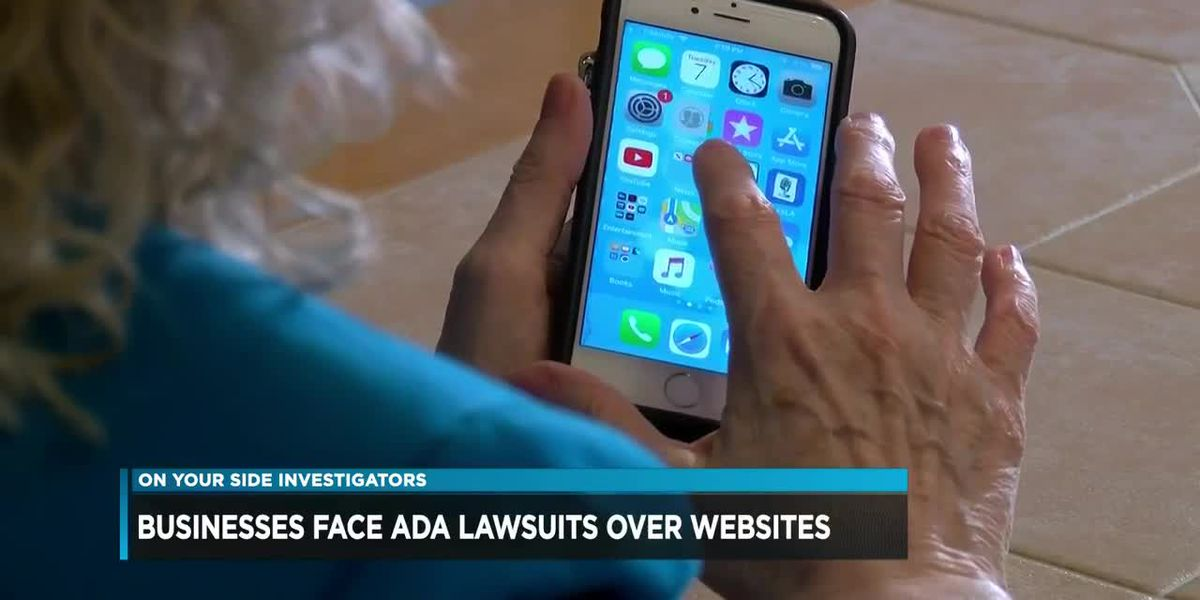 Businesses face ADA lawsuits over websites