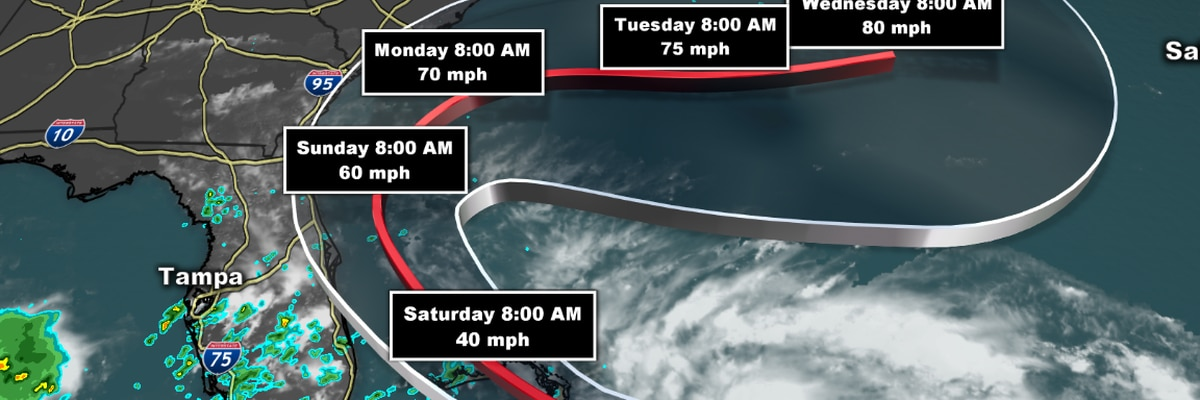 Tropical Storm Humberto to bring high waves, rip currents to eastern U.S.