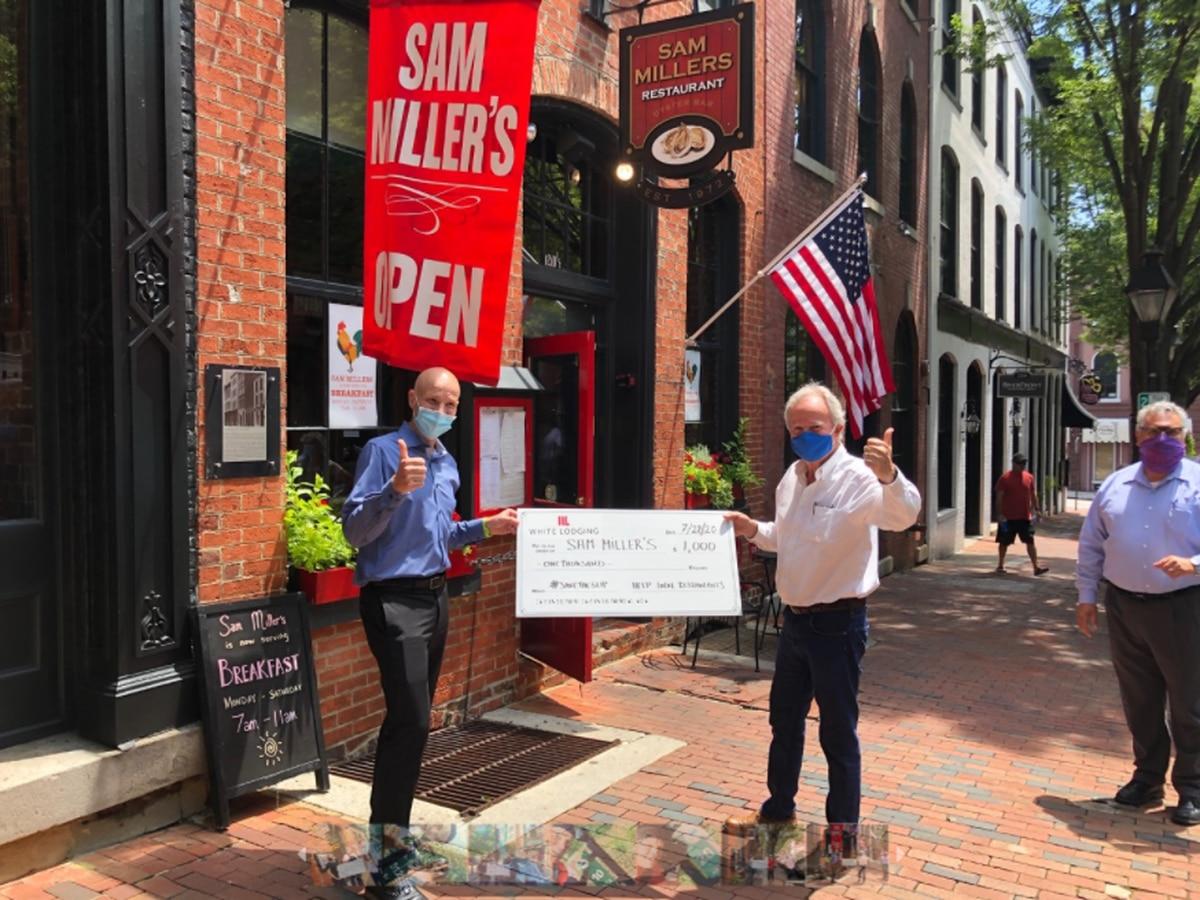 Man runs entire Capital Trail to raise money for Richmond restaurants