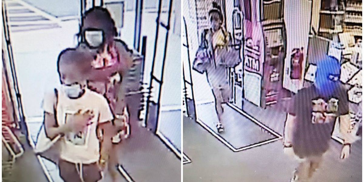 Police searching for 4 suspects in connection to stolen skincare products