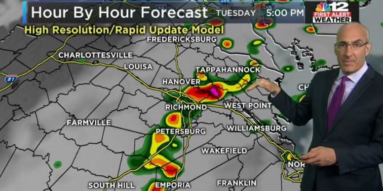 Storms rolling out, drier weather ahead
