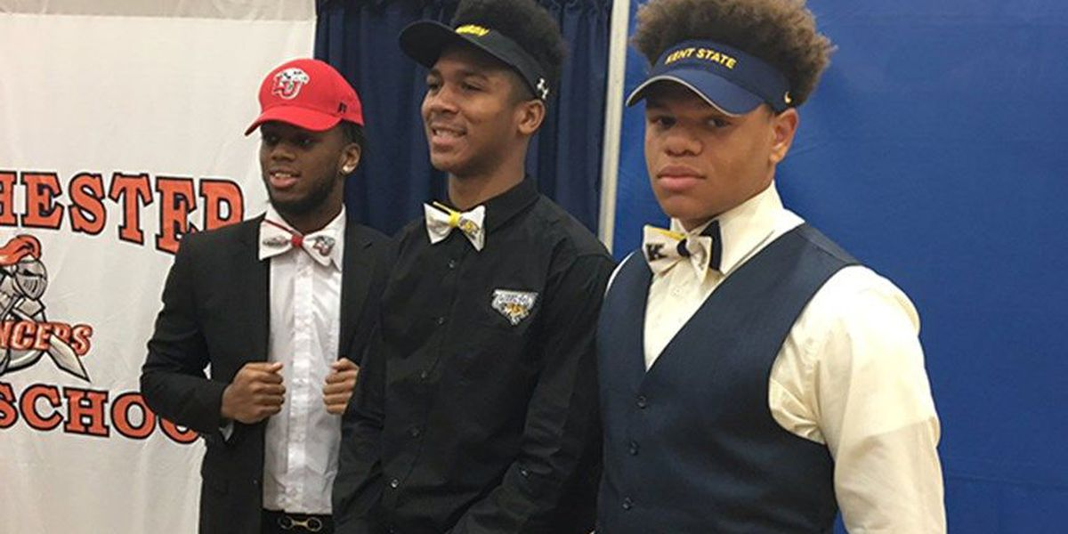 Central VA athletes make their school picks on National Signing Day