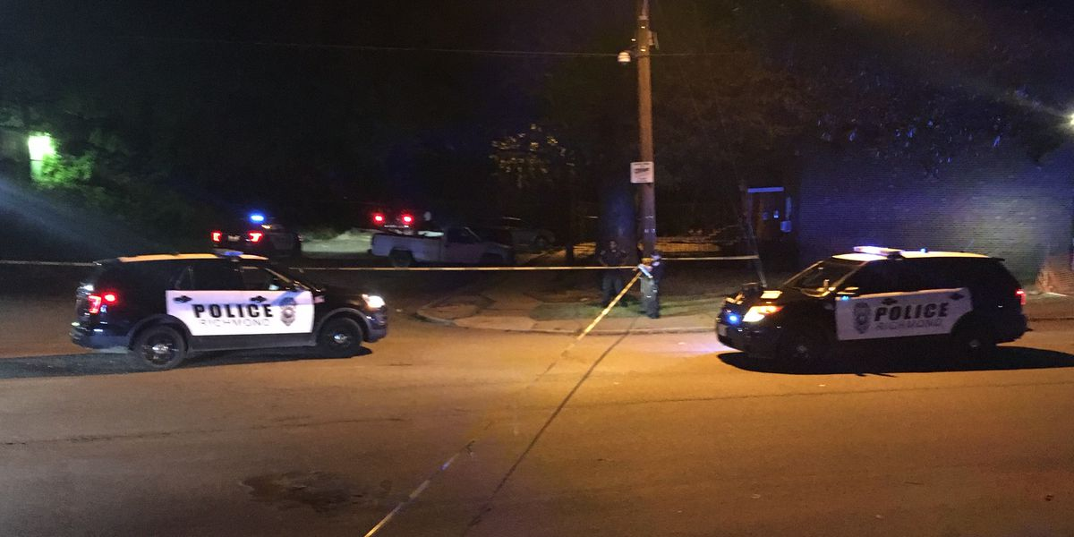Police: Man found shot near truck parked in Gilpin Court
