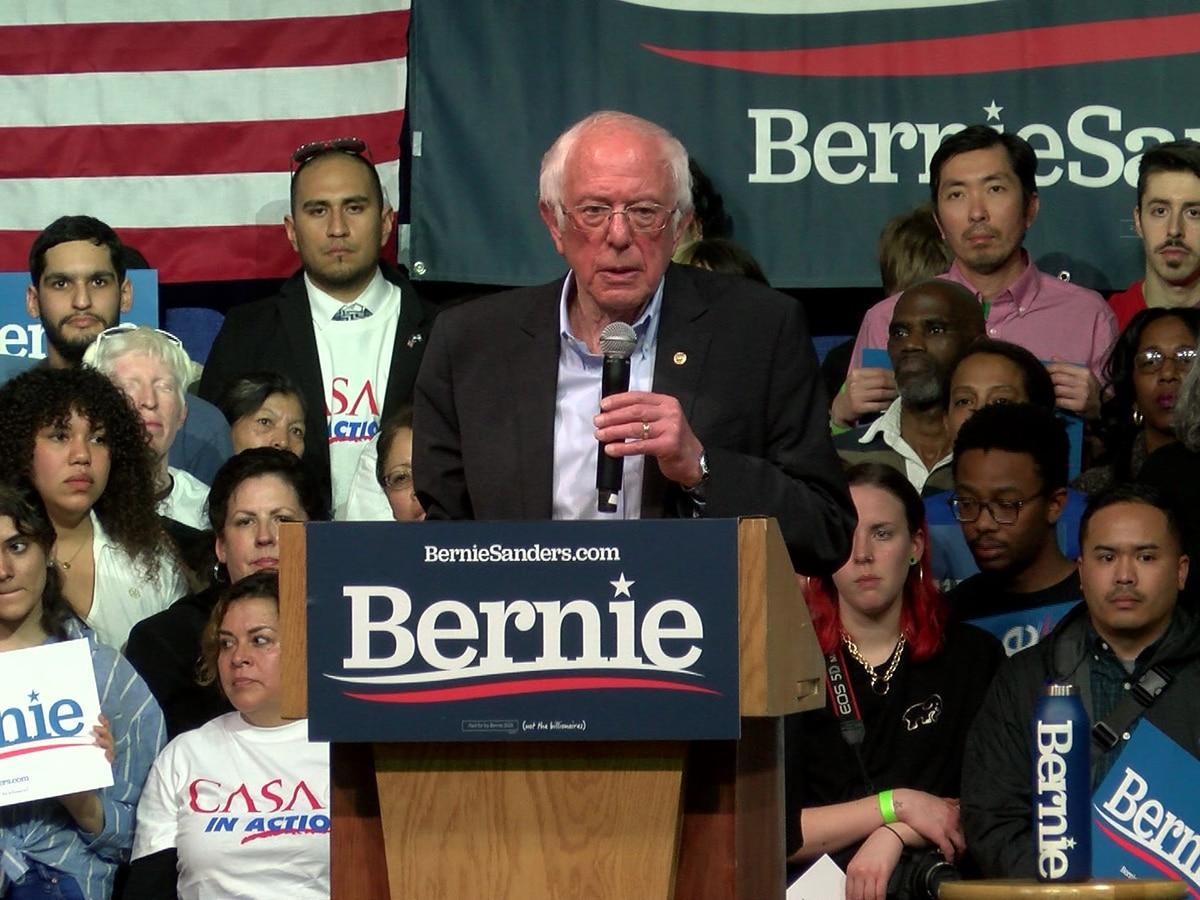 Bernie Sanders rallies thousands in Richmond ahead of Super Tuesday