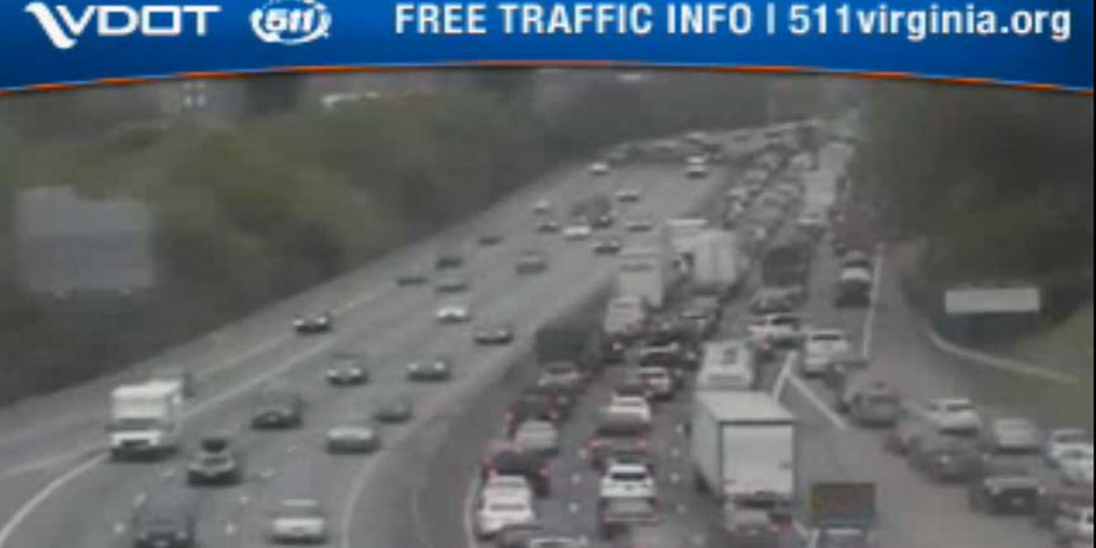 All lanes back open after crash on I-95S in Richmond
