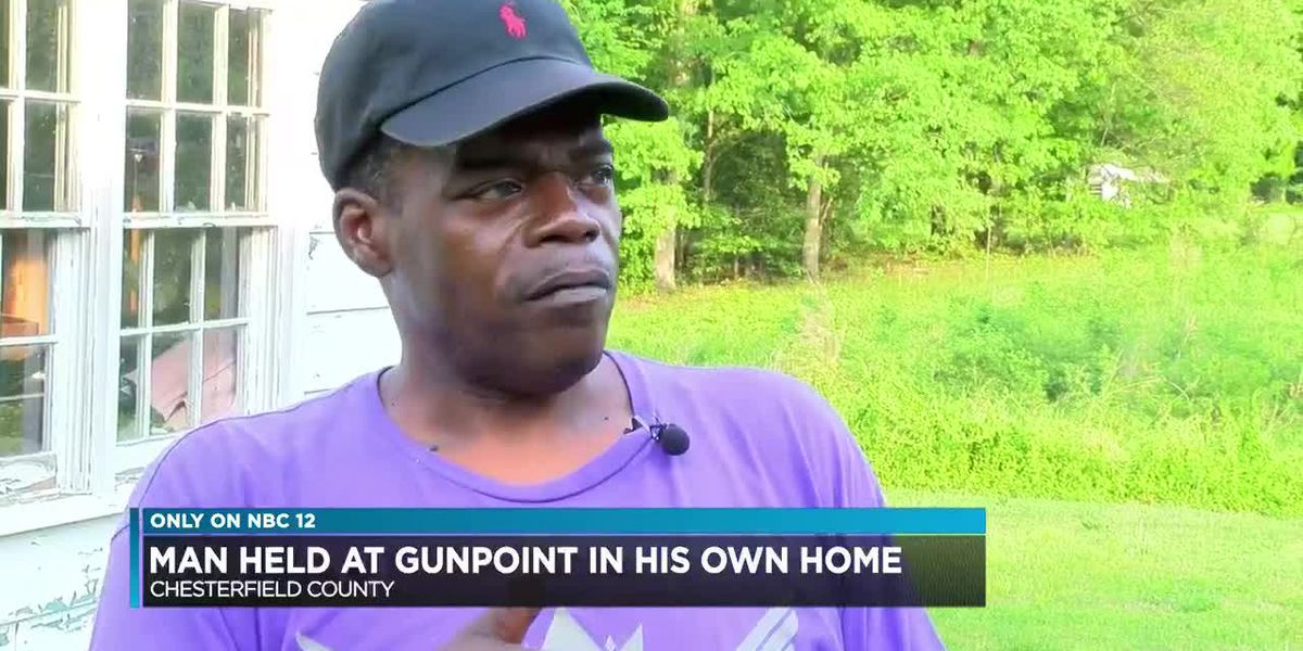 Man held at gunpoint in his own home