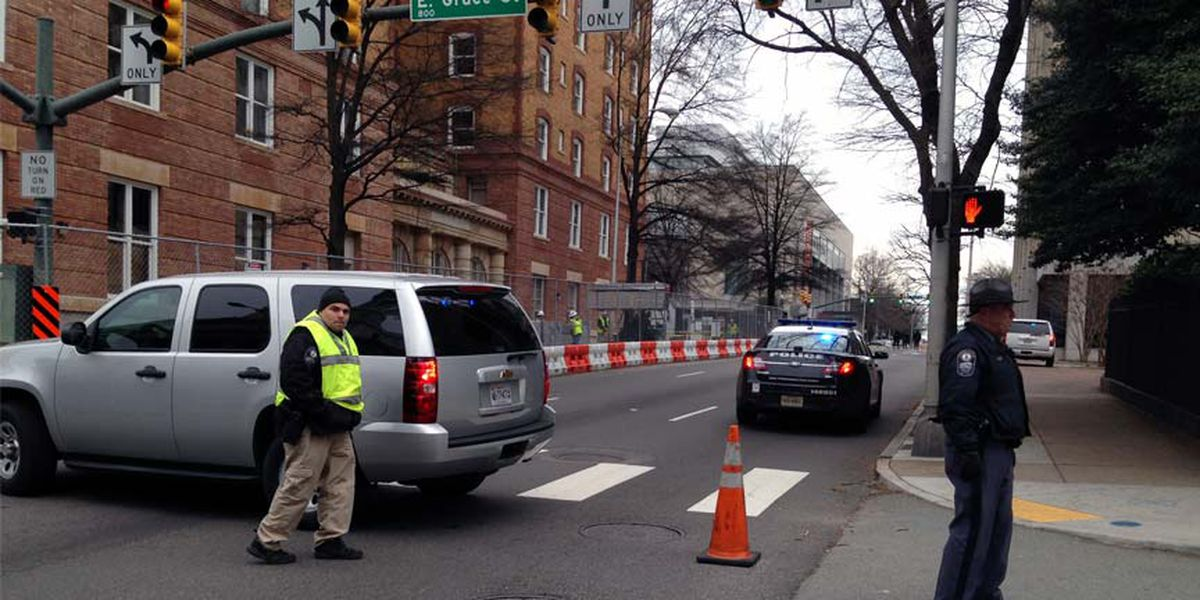 Police give all clear in downtown Richmond suspicious package investigation